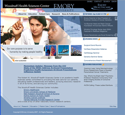 Emory University - Woodruff Health Sciences Center